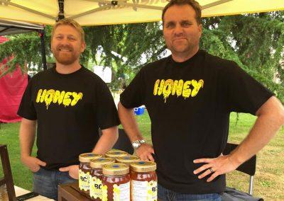 Kris Friesen and Chris Davies - BC Buzz Honey